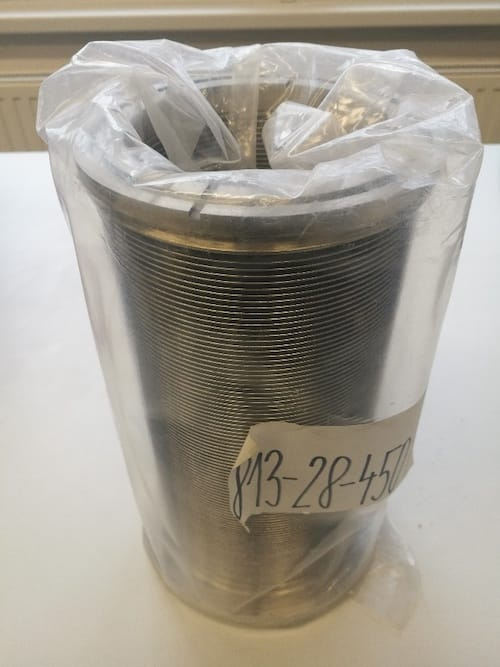 Svařovaný vlnovec pro MRC 603