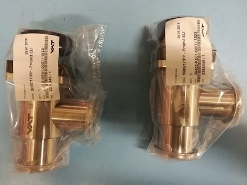 Angle valve VAT, series 264, DN 63